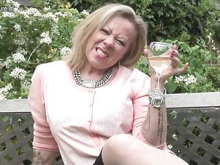 British inked mature mom needs a good fuck
