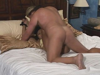 Young Asian gets tied to the bed and fucked