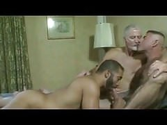 Daddy and two friends