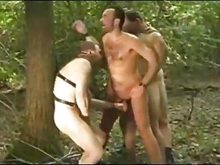 Bear Gangbang in Forest