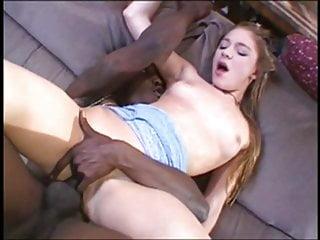 Randy girl getting black cock anal