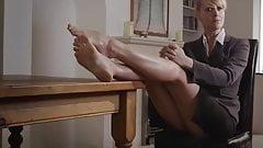 teacher's feet