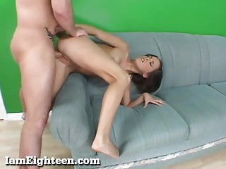 Preview 6 of Cute Skinny Teen Gets Drilled!