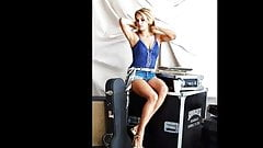 Cum tribute to Carrie Underwood sexy legs Part 2