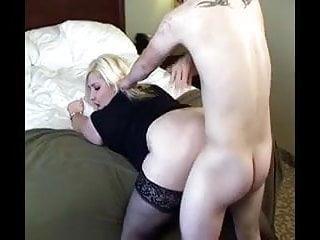 BBW Blonde Lets Herself get Fucked