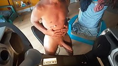 Me GreGoRySpLiT And My BIG COCK FuLL Naked My Fit Daddy Body