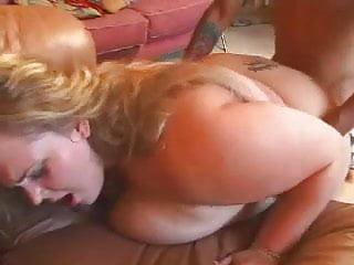 HOT FUCK #157 Blonde BBW on the Sofa