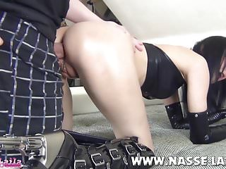 First time Anal! Slutty Teen gets her Ass ripped off