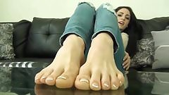 Pretty Girl Sweaty Stinky Feet