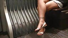 Candid Feet & Legs (faceshot)