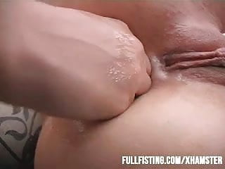 Hot Girlfriends Having Anal Strap-on And Fisting Fun!NOTE: R