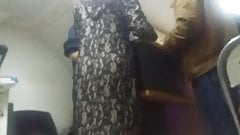 Hijab mom and teen nice ass 4part
