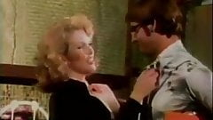 oldschool nerd gets lucky with hot redhead.vintage clip