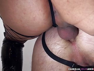 Tranny unties for fuck