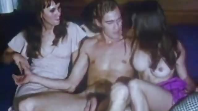 Preview 1 of Ardent Couple is Making Love (1970s Vintage)