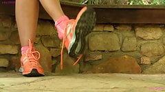 Vanessa Nike shoeplay dangle PREV