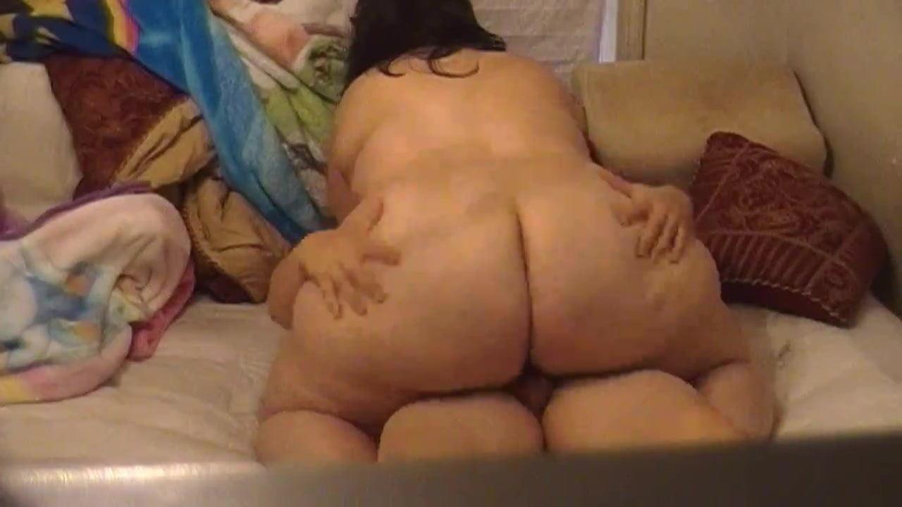 Big soft bbw riding my dick