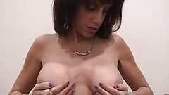 Big Titty Ugly MILF Sucks Dick & Gets Titty Fucked