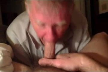 Cock sucking grandpa