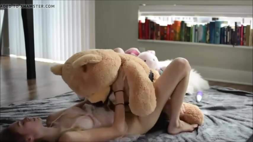 Will teddy bear orgasm masterbate