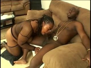Free download & watch chunky black in fishnets blows for a load         porn movies