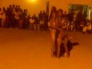 danceing naked en fucking in front of people