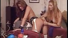 Lesbian Enema