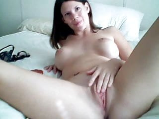 The best first rabbit vibrator - Brunette masturbates - and orgasms -with a rabbit vibrator