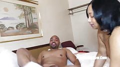 redbone laylared swollowing bbc