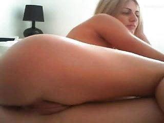 Beautiful Amateur Blonde Anal Cream Pie