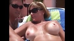 Hot swinger milf Fuck and suck on vacation