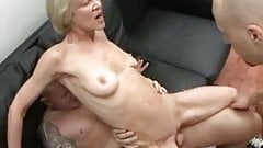 Totally Slutty Granny Loves To Take Young Cocks And Jizz !