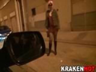 Montse Swinger in a x video of Street Hookers of Krakenhot