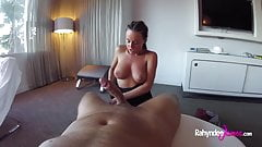 Rahyndee James hotel fucking POV