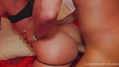Slim Brunette Beauty Loves Cock In The Ass