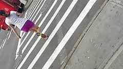Sexy mature jogging vpl