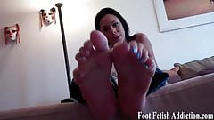 My feet were made to be worshiped