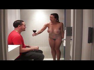 Zimmerservice wie Mann und Frau ihn gerne hat
