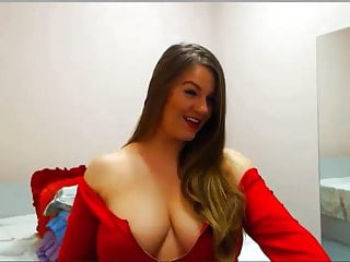 sexy shy webcam show in pure red
