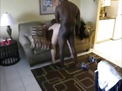 doggy interracial black fuck white