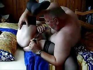 Horny granny still enjoy sex