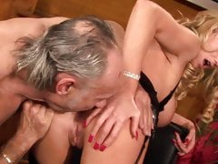 Blonde Paige Ashley wants to get hard cock through the back door
