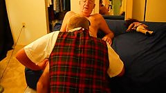 Sissy Schoolgirl gets punished and a lesson