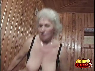 Preview 4 of Young Cock For A Horny Granny