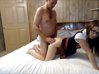 Daddy Gets Caught Stroking Hotmoza