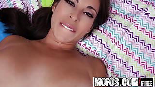Mofos - Latina Sex Tapes - Spicy Latina Loses Bet starring