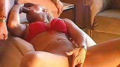 Amateur Blonde MILF masturbates & gets fucked!