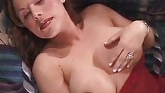 Super sexy lady pleasing herself - and a man