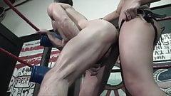 Wrestling Strapon's Thumb