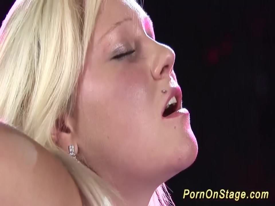 lesbian porn show in stage